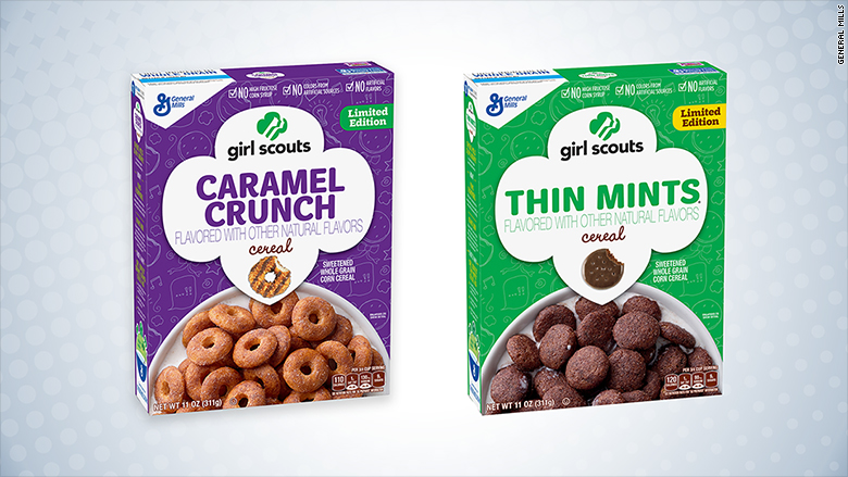 This Is Not A Drill!!!: Girl Scout Cookie Cereal Is Coming