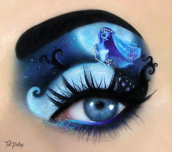 Feast Your Eyes On This Amazing Halloween Eye Makeup Art