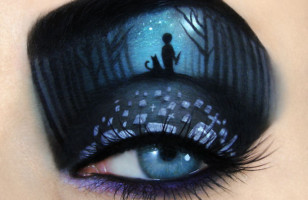 Feast Your Eyes On This Amazing Halloween Eye Makeup Art