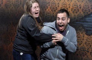 These Haunted House Photos Of Terrified People = Hilarious