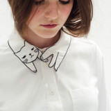 Kitty Collar Blouse