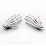 Skeleton Hand Barrettes