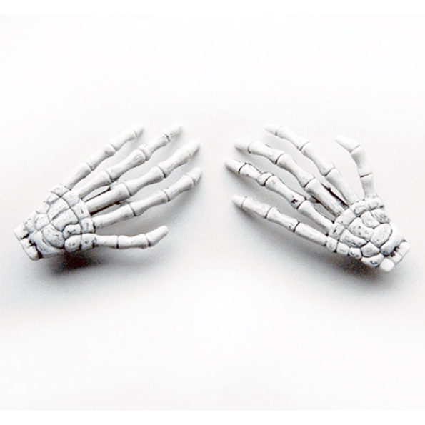 These Skeleton Hand Barrettes Are Creepy AND Cute!