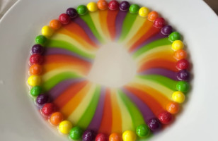 This Is What Happens When You Put Skittles In Hot Water