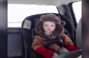 Watch As This Sleepy Toddler Falls Asleep On Command