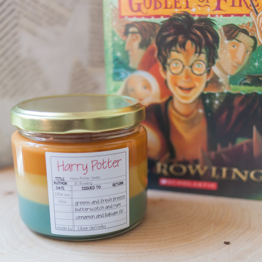 This Collection Of Candles Have Scents Inspired By Books