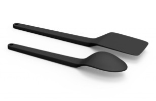 These Futuristic Floating Utensils Keep Your Counters Clean