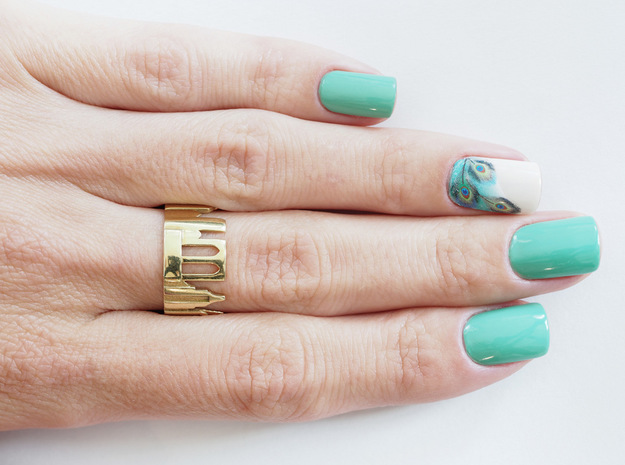 Wrap Your Hometown Around Your Finger With A Cityscape Ring