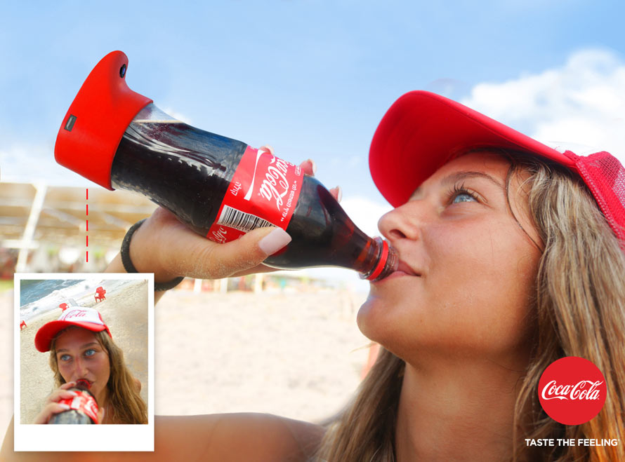 The Coca-Cola Selfie Bottle & More Incredible Links