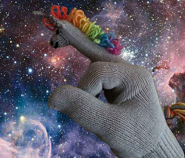 "Say ""F- You!"" To The Cold With A Pair Of F-Unicorn Gloves"