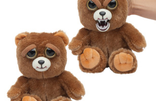 Feisty Pets Stuffed Animals Get Angry When They're Squeezed