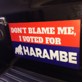 Harambe Sticker Decal