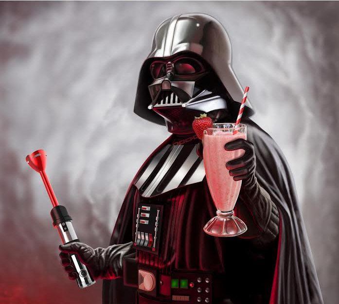Giveaway Darth Vader Light Saber Handheld Blender