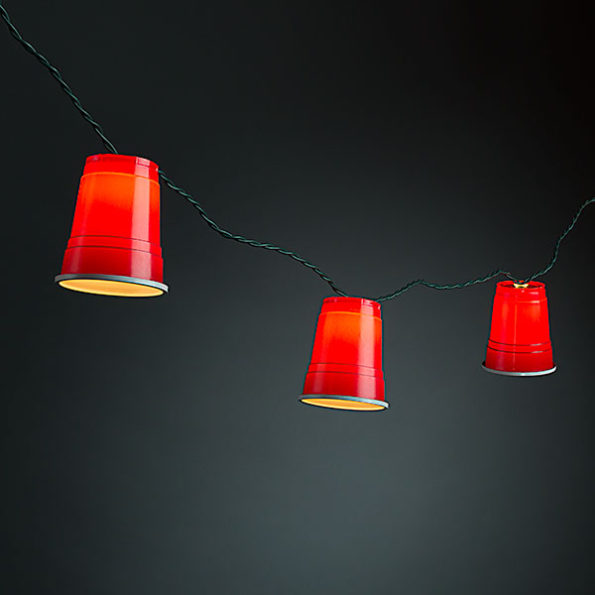 Frat Up Your Next Gathering With Red Party Cup String Lights