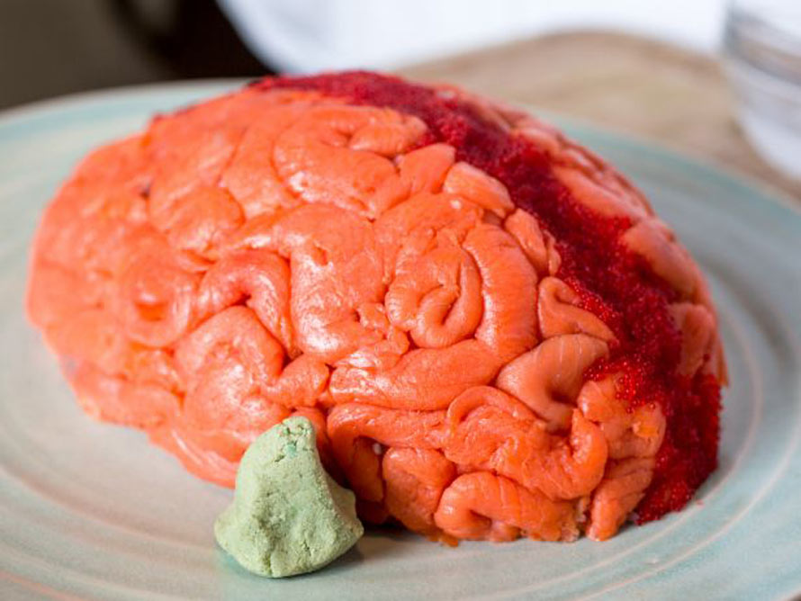 The fish sushi brain is filled with avocado cream cheese for Where to buy fish for sushi