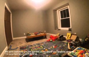 A Dad Put A GoPro On His 2-Year-Old During Hide-And-Seek