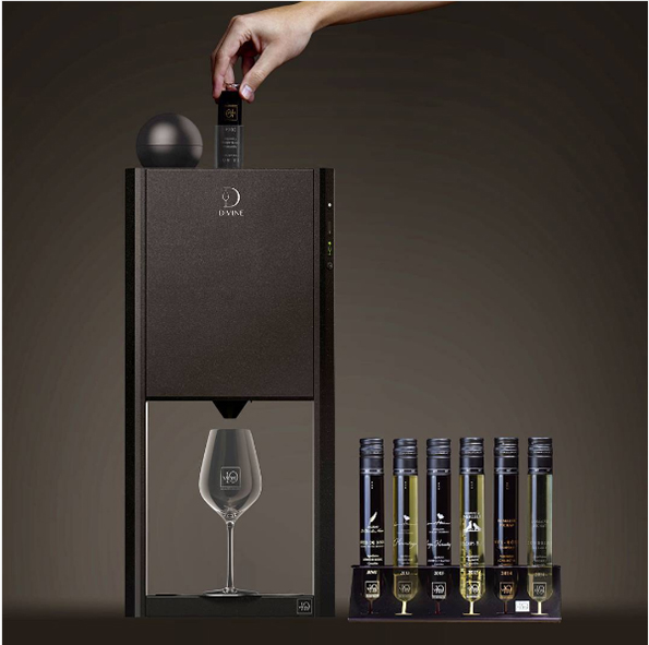 The D-Vine Is Basically Like A Keurig For Wine