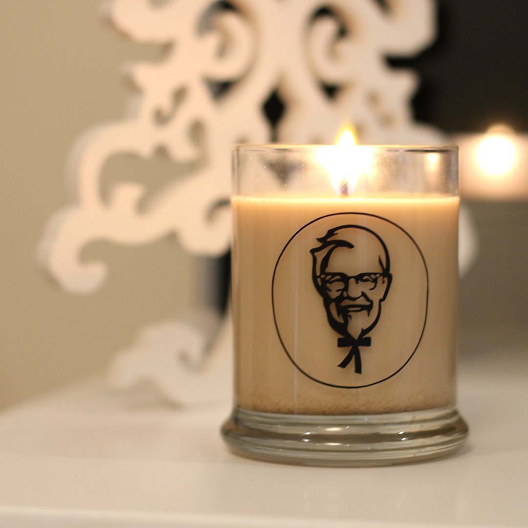 KFC Candles Bring The Smell Of Chicken Into Your Home