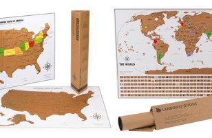 People Who Love Traveling Will Love These Scratch Off Maps
