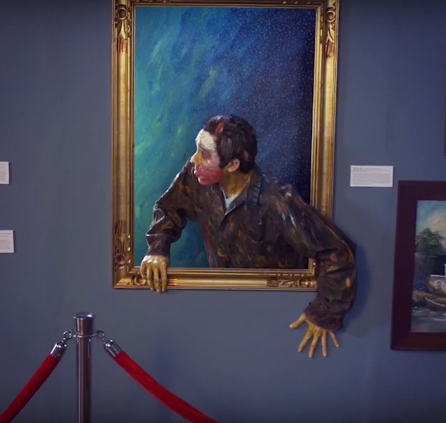 Here's A Super Sweet Video Of Paintings Coming To Life