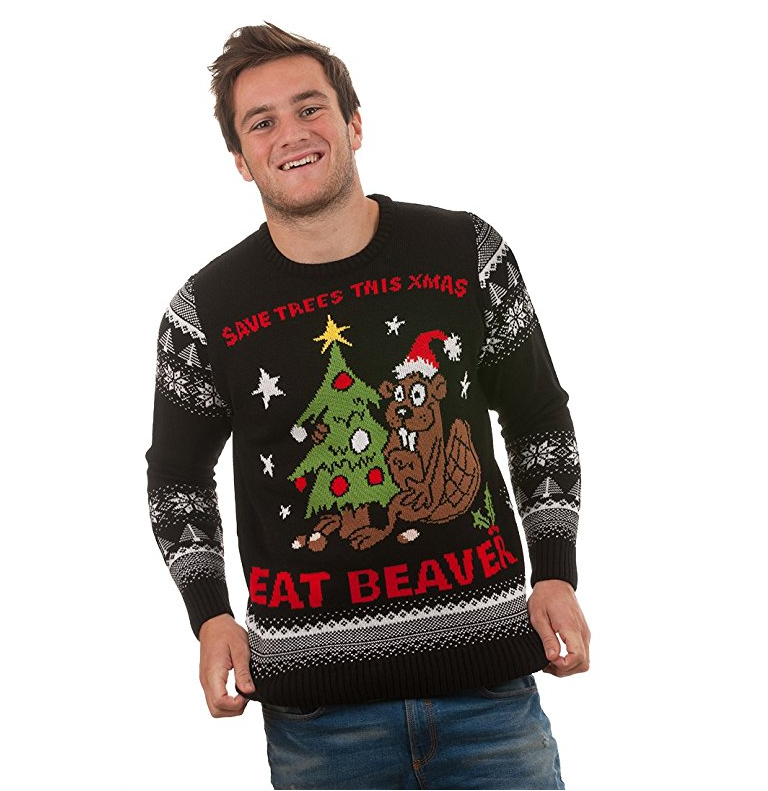The Ugliest Must-Have Christmas Sweaters Are Rude AF