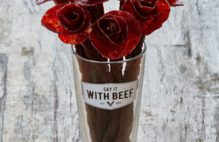 Broquets Are Beautiful Beef Jerky Floral Arrangements