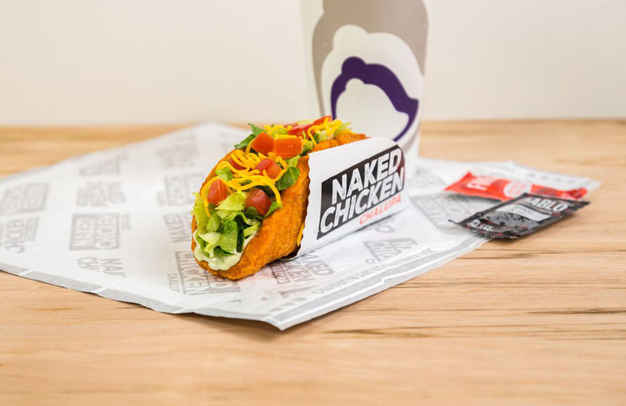 Taco Bell Announces New Item With A Fried Chicken Taco Shell