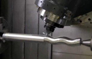 This Video Of A Machine Cutting A Pipe Will Hypnotize You