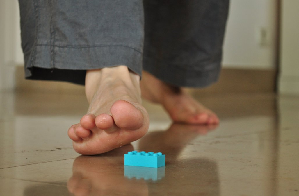 The Science Behind Why Stepping On A LEGO Brick Hurts