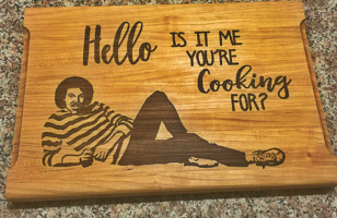 Your Kitchen NEEDS This Lionel Richie Cutting Board*