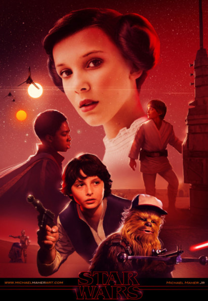 Finally! Stranger Things Gets The Star Wars Treatment