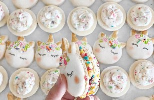 The Sweetest Macarons Are UNICORN MACARONS