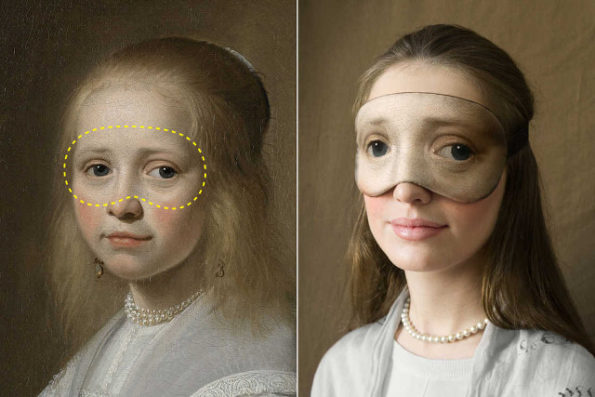 These Famous Painting Sleep Masks Are Freaky But Also Cool