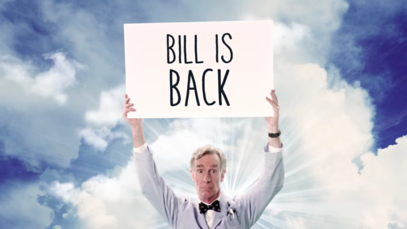 The Trailer For Bill Nye's New Show Is Finally Here!