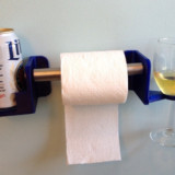 Wine And Beer And Toilet Paper Holder