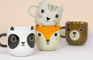 These Animal Mugs Are SO KAWAII, IT HURTS
