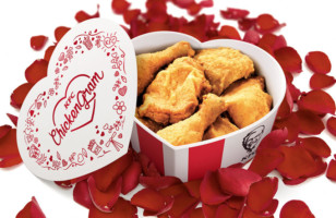 Get A Heart Shaped Bucket Of KFC Chicken For Your Valentine