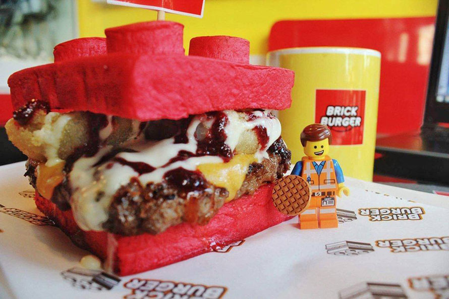 It S Undeniable The Lego Burger Is Awesome