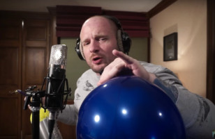 Here's A Video Of A Man Rapping Fast On Helium