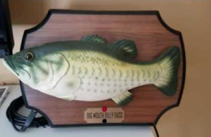 Someone Hacked Alexa With A Big Mouth Billy Bass