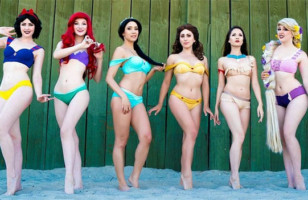 Disney Princess Bikinis Are The Most Whimsical Bikinis Ever