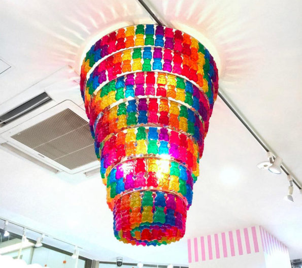 A Gummy Bear Chandelier & More Incredible Links