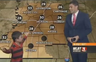 You Have To See This Wacky Kid Crash A Weather Report