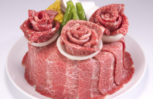 Have Some Meat Cake Decorated With Meat Flowers From Japan