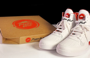 You Can Actually Order Pizza With These Pizza Hut Shoes