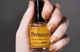 Not Sure If Prosecco Flavored Nail Polish Is Cool Or Weird…