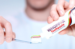 Whopper Toothpaste Supposedly Exists Thanks To Burger King