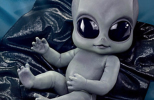 An Alien Baby Doll, Because Alien Babies Need Dolls Too!