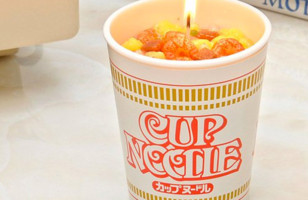 Instant Ramen Enthusiasts Will Love The Cup Noodle Candle
