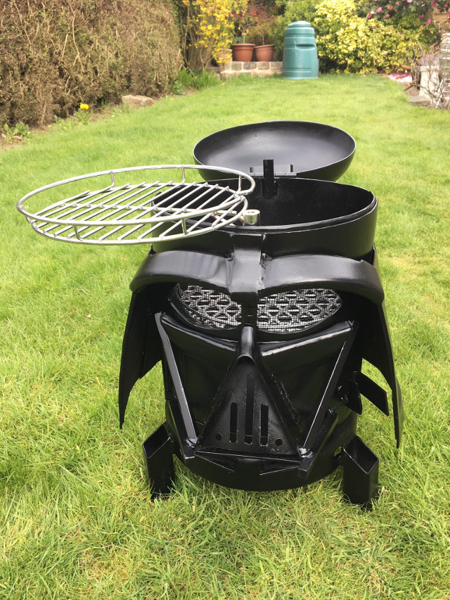 Come To The Dark Side, We Have This Darth Vader Grill